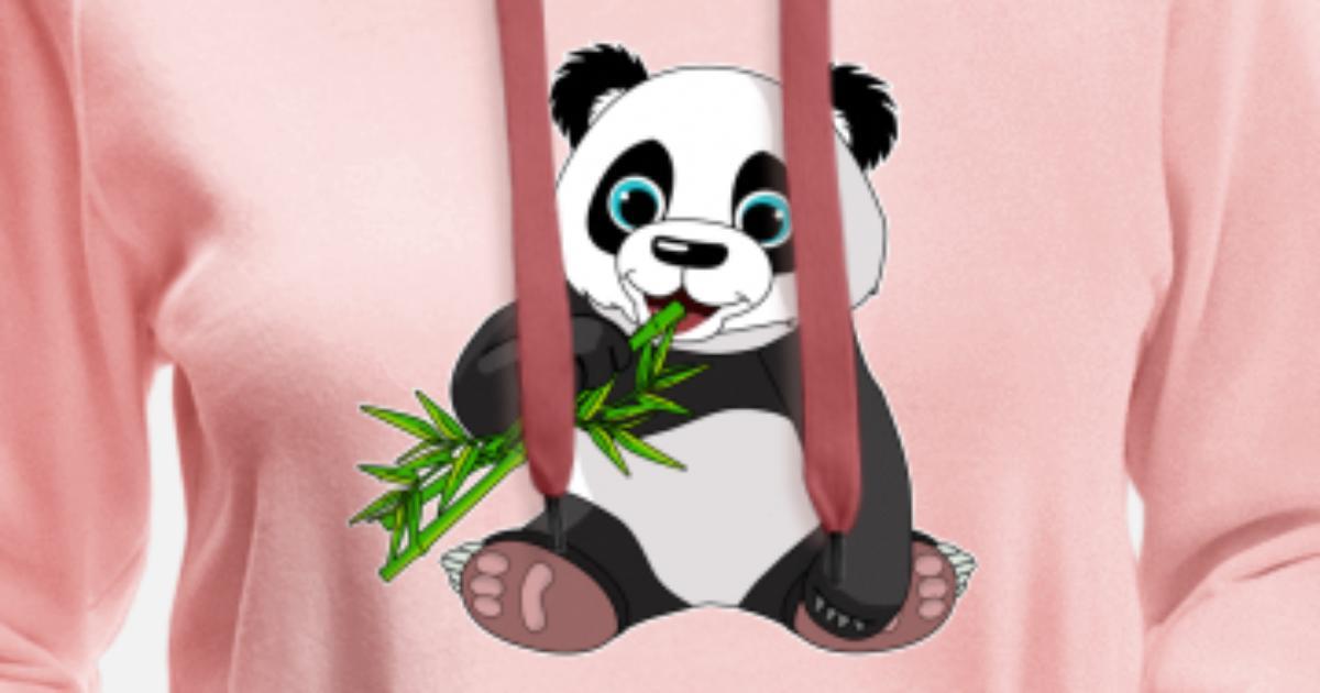 Susser Panda Bar Geschenk Bambus Cartoon Niedlich Frauen Premium