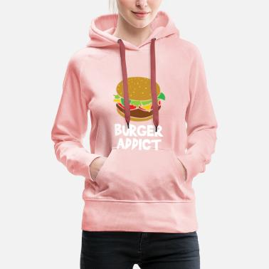 Affection Burger affection - Women's Premium Hoodie