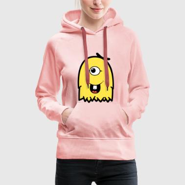 Vienna Furly Yellow - Women's Premium Hoodie