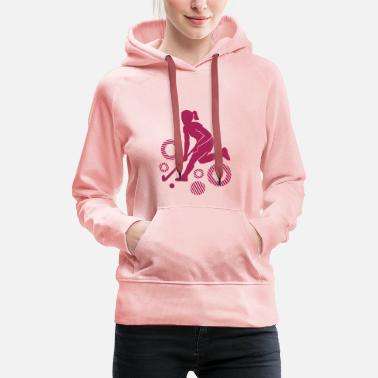 Field Hockey Field hockey player - Women's Premium Hoodie