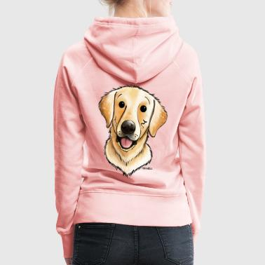 Happy Labrador Retriever - Women's Premium Hoodie