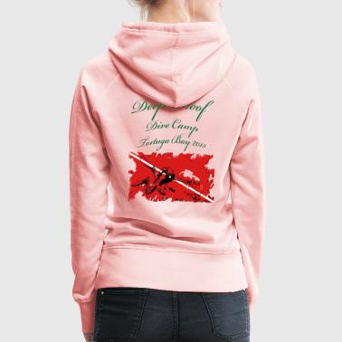 Dive Camp Tortuga Bay _Women - Frauen Premium Hoodie