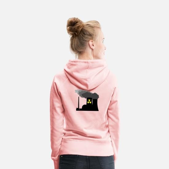 Nuclear Power Plant Hoodies & Sweatshirts - Nuclear Power - Women's Premium Hoodie crystal pink