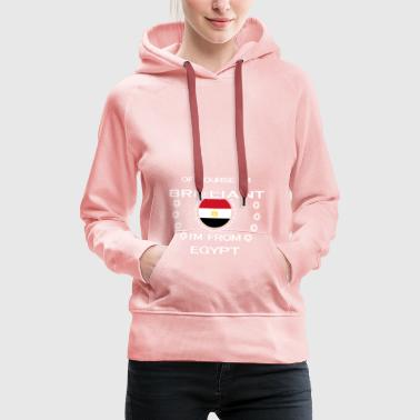 I AM GENIUS CLEVER BRILLIANT EGYPT - Women's Premium Hoodie
