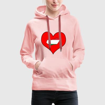 Love Land Europe EU Hungary Hungary - Women's Premium Hoodie