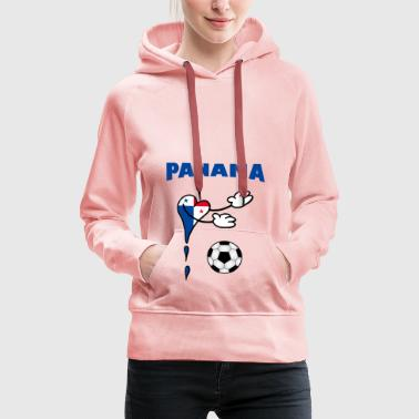 Fanshirt Fan Shirt Panama Handball Football - Sweat-shirt à capuche Premium pour femmes