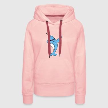 Funny Narwhal Dab - Women's Premium Hoodie