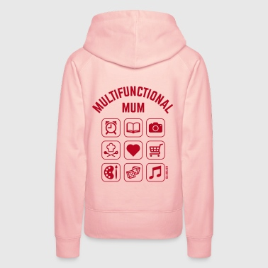 Multifunctional Mum (9 Icons) - Women's Premium Hoodie