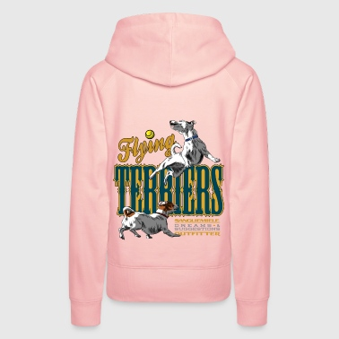 flying terriers - Sweat-shirt à capuche Premium pour femmes