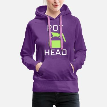 Light Pot Head - Women's Premium Hoodie