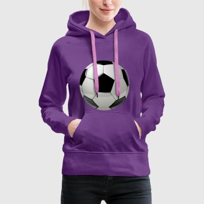 The football - Women's Premium Hoodie