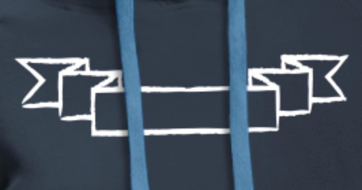 Personnalisation logo bannière sans texte bannière Sweat à capuche premium Femme | Spreadshirt