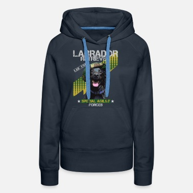 Style Labrador Special Agility Forces - Frauen Premium Hoodie