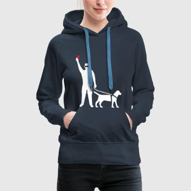 Blind Referee by Dai Lama - Women's Premium Hoodie