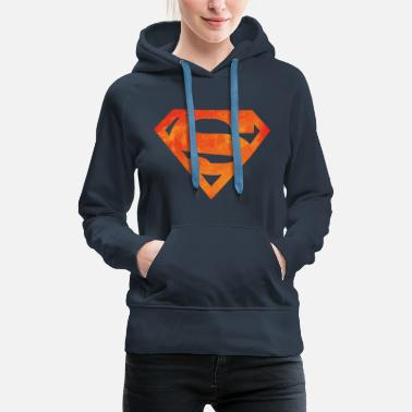Superman Justice League Superman Logo - Naisten premium-huppari