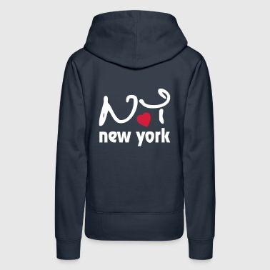 I Love New York - Women's Premium Hoodie