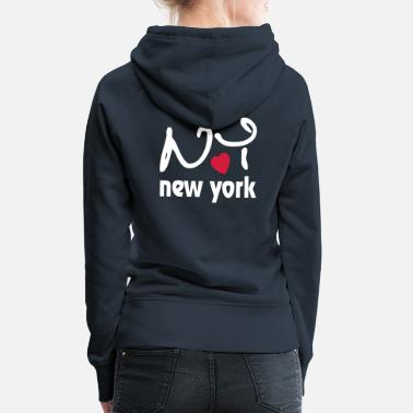 City I Love New York - Women's Premium Hoodie