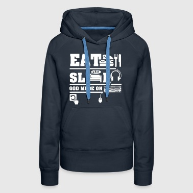 Eat Sleep PC - Women's Premium Hoodie
