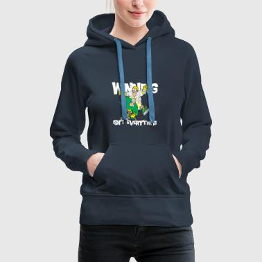 Hockey Winning Isn't Everything - Women's Premium Hoodie