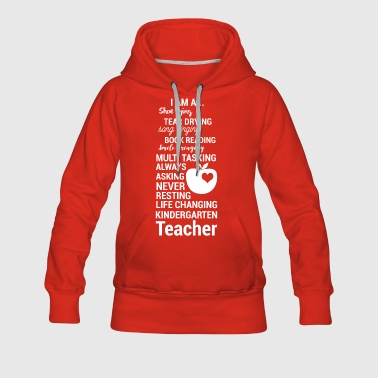 Kindergarten Teacherin - Educator - Gift - Women's Premium Hoodie