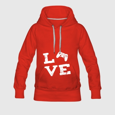 Game Console Gamen console gamble love gift - Women's Premium Hoodie