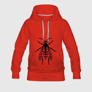 Insect - wasp - Women's Premium Hoodie