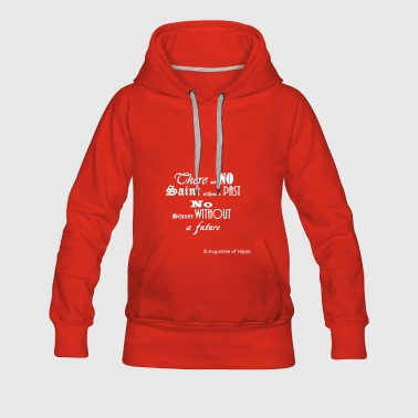 There_is_NO_white - Vrouwen Premium hoodie