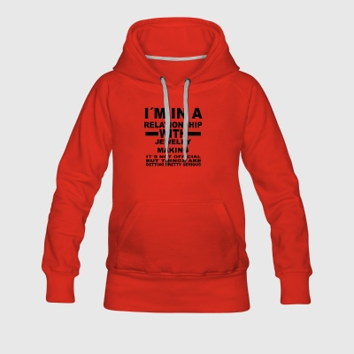 Relationship with JEWELRY MAKING - Women's Premium Hoodie