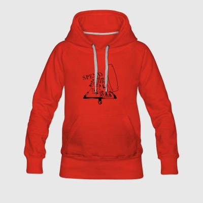 Spend more time at the bar - Women's Premium Hoodie