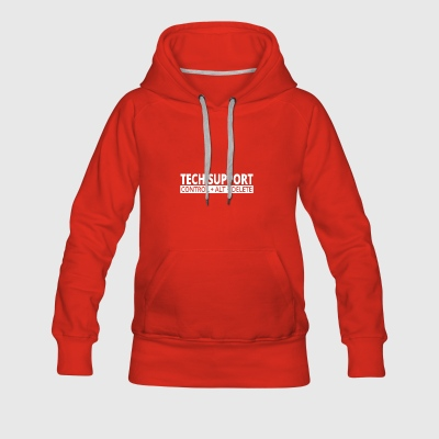 tech support - Women's Premium Hoodie
