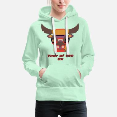 Year Year of the Ox - Year of the Ox - Women's Premium Hoodie