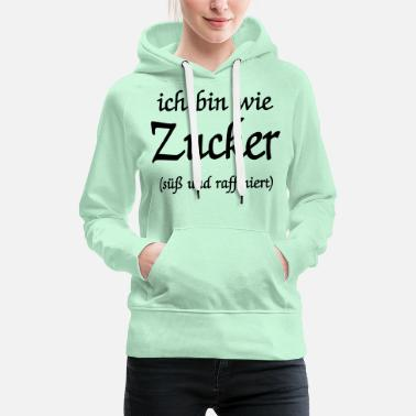 such as sugar- - Women's Premium Hoodie