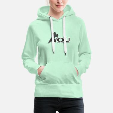 Genius Engineer, Mechanic, Gear, Science, Gift, - Vrouwen premium hoodie