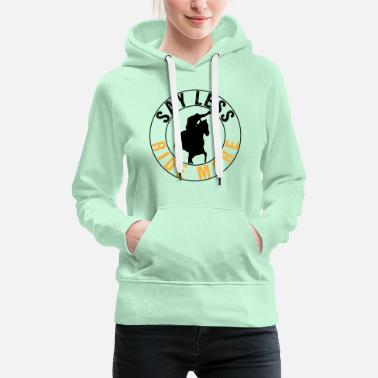 Horse Fan Say Less Ride More | Horse Riding Fan - Frauen Premium Hoodie