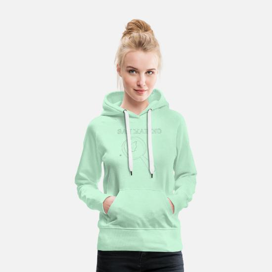 Italy Hoodies & Sweatshirts - San Marino with loupe gift idea - Women's Premium Hoodie light mint