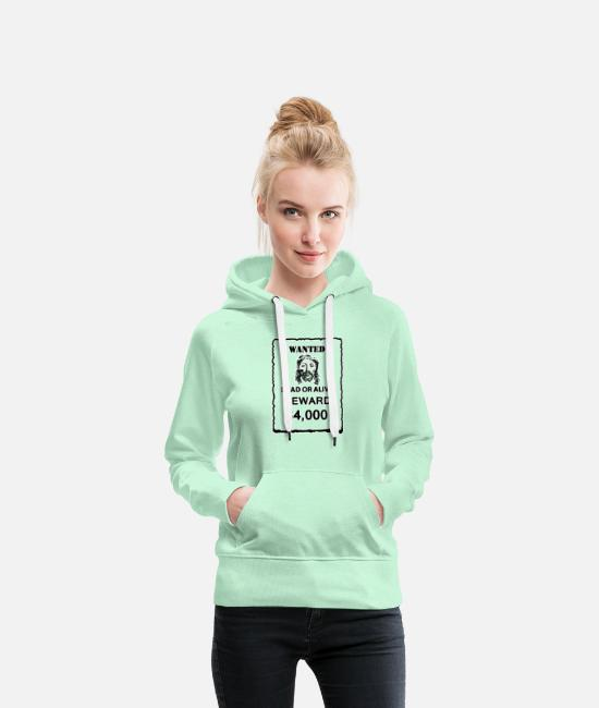 Jesus Hoodies & Sweatshirts - Jesus - Women's Premium Hoodie light mint