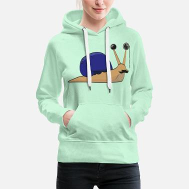 Wealthy The wealthy snail - gift idea - Women's Premium Hoodie