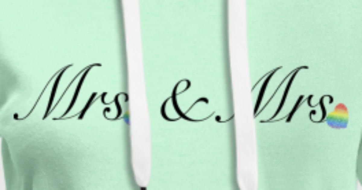 Mrs&Mrs Design für lesbische Paare von Annie Kress   Spreadshirt
