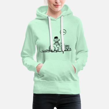 Thelwell Thelwell 'No waiting' - Frauen Premium Hoodie