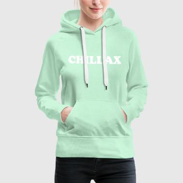 chill collection - Women's Premium Hoodie