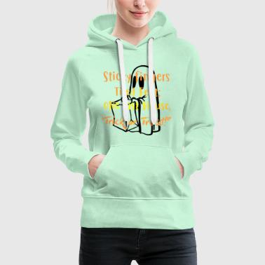 House Sticky fingers tried feet on last house - Frauen Premium Hoodie