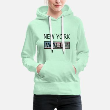 Occupy New York Wallstreet - Frauen Premium Hoodie