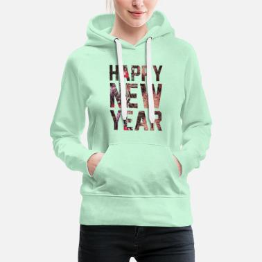 Läuft Happy New Year Silvester Party Geschenk Idee - Frauen Premium Hoodie
