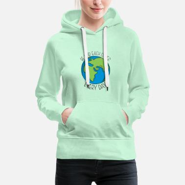 Be kind each other - Women's Premium Hoodie