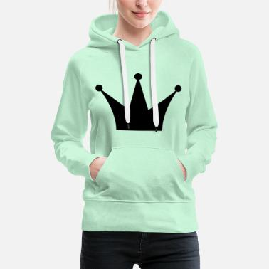 Coronation Crown - gift idea - Women's Premium Hoodie