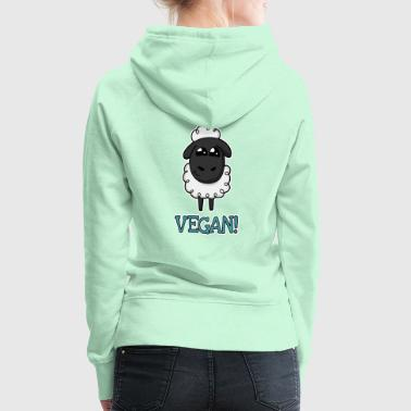 Too cute to eat Schaf - Frauen Premium Hoodie