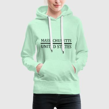Massachusetts United States - Women's Premium Hoodie