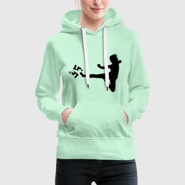 against Nazis - Women's Premium Hoodie