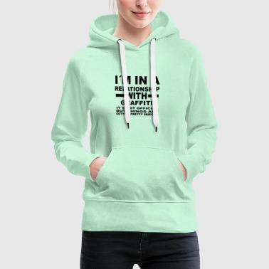 Relationship with GRAFFITI - Women's Premium Hoodie