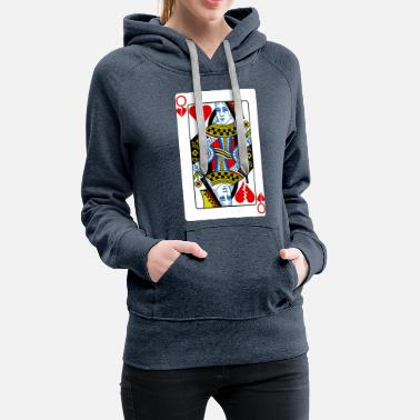 Queen Of Hearts Queen heartthrob - Women's Premium Hoodie